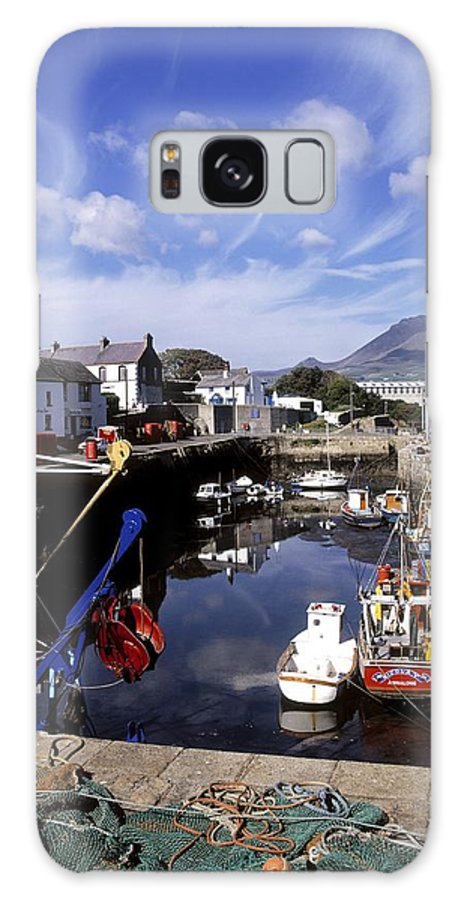 Annalong Harbour Galaxy S8 Case featuring the photograph Annalong Harbour, Near Mountains Of by The Irish Image Collection
