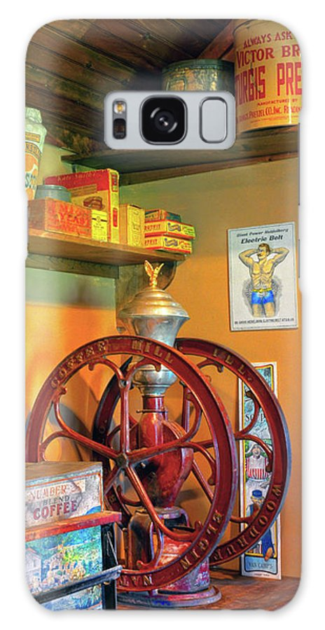 Coffee Mill Galaxy S8 Case featuring the photograph Antique Coffee Mill by Dave Mills