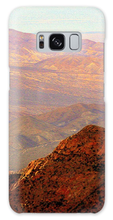 Desert Galaxy S8 Case featuring the photograph Anza-borrego Desert Foothills by Randall Thomas Stone