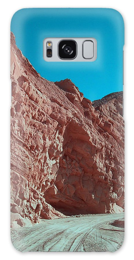 Nature Galaxy S8 Case featuring the photograph Anza Borrego Trail by Naxart Studio
