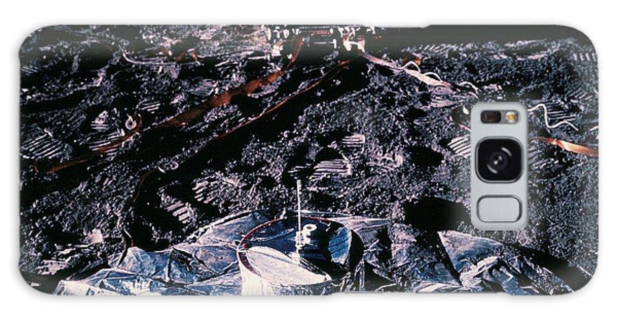 Apollo 14 Galaxy S8 Case featuring the photograph Apollo 14 Lunar Experiments by Nasa