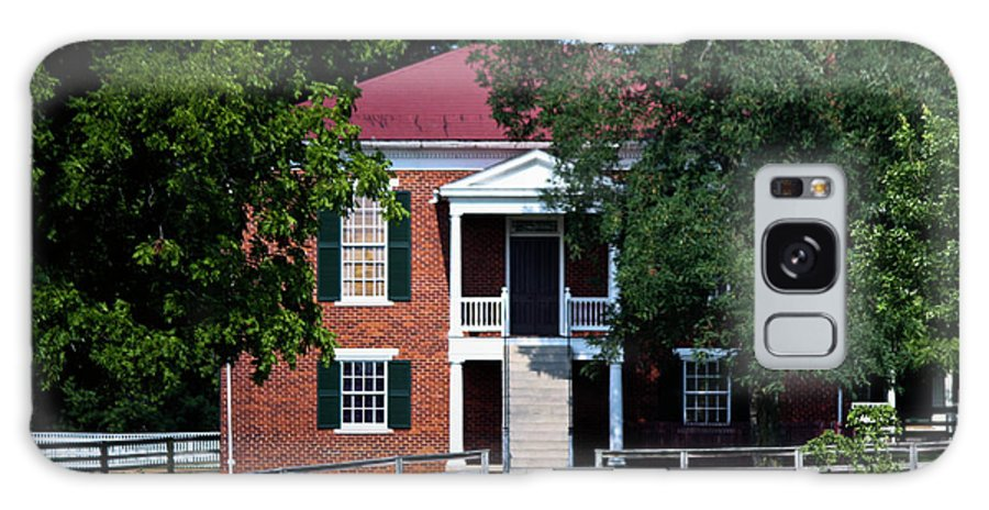 Appomattox Galaxy S8 Case featuring the photograph Appomattox County Court House 1 by Teresa Mucha