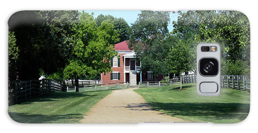Appomattox Galaxy S8 Case featuring the photograph Appomattox County Court House 2 by Teresa Mucha