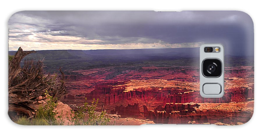 Panoramic Galaxy S8 Case featuring the photograph Approaching Storm by Robert Bales