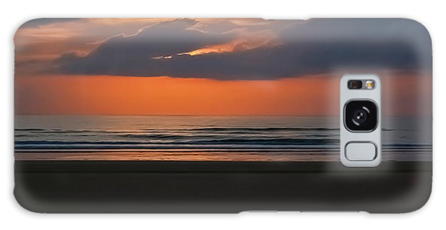 Sunrise Galaxy S8 Case featuring the photograph April Sunrise by DigiArt Diaries by Vicky B Fuller