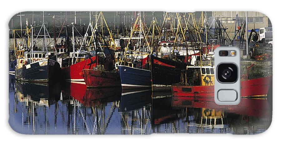 Ardglass Galaxy S8 Case featuring the photograph Ardglass, Co Down, Ireland Fishing by The Irish Image Collection