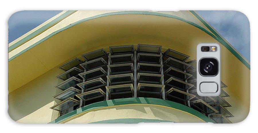 Art Deco Galaxy S8 Case featuring the photograph Art Deco Detail by Vivian Christopher