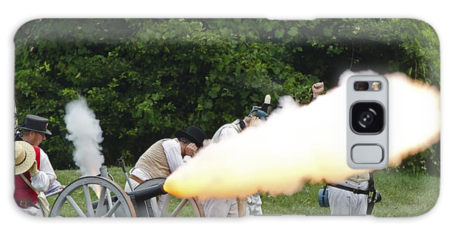 War Of 1812 Galaxy S8 Case featuring the photograph Artillery Demonstration by JT Lewis