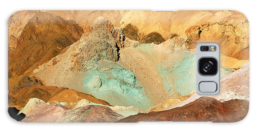 Death-valley Galaxy S8 Case featuring the photograph Artists Palette Death Valley by Anne Kitzman