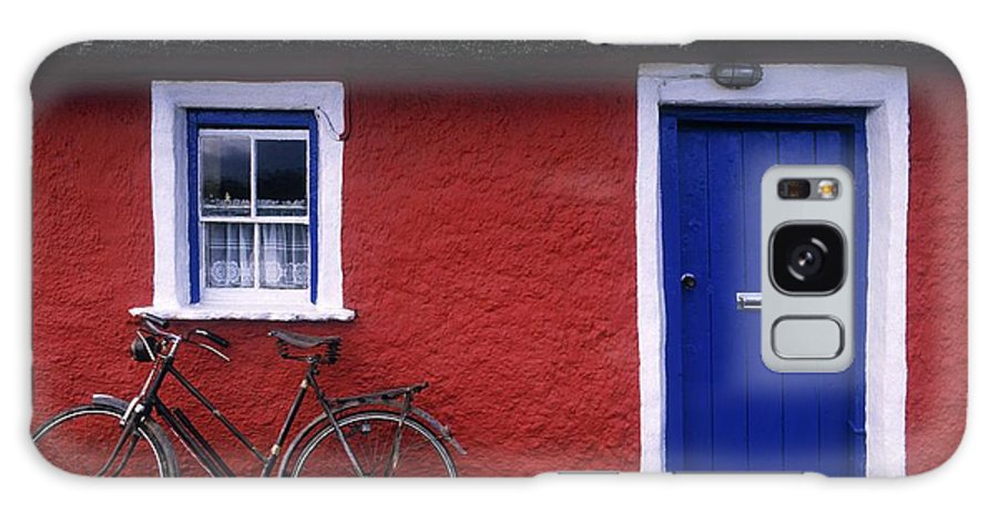 County Limerick Galaxy S8 Case featuring the photograph Askeaton, Co Limerick, Ireland, Bicycle by The Irish Image Collection