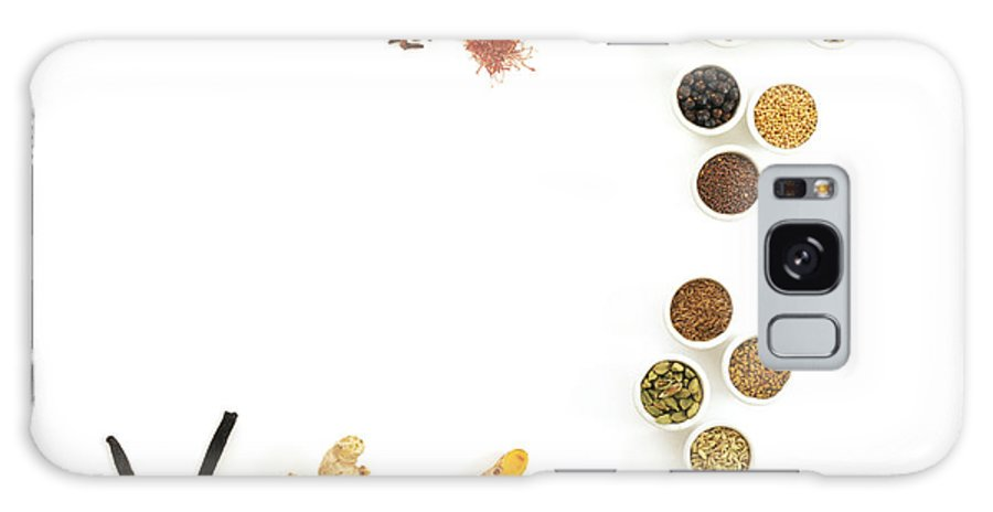 Food Galaxy S8 Case featuring the photograph Assortment Of Spices by David Munns