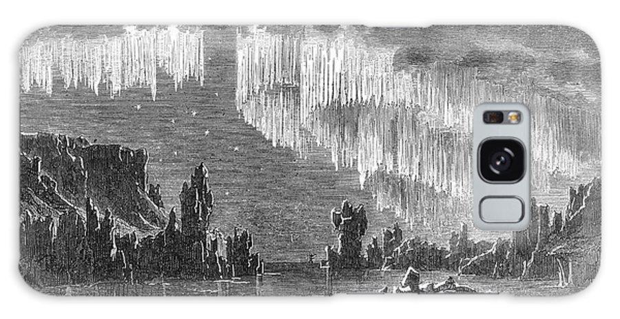 1868 Galaxy S8 Case featuring the photograph Aurora Borealis, 1868 by Granger