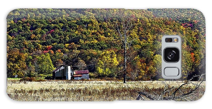 West Virginia Galaxy S8 Case featuring the photograph Autumn Farm Painted by Steve Harrington