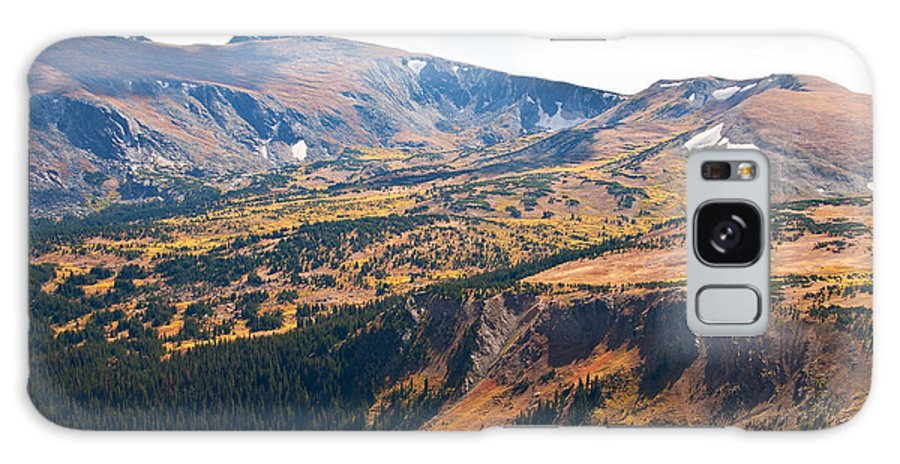Mountain Galaxy S8 Case featuring the photograph Autumn In Rocky Mountain National Park by Bob and Nancy Kendrick