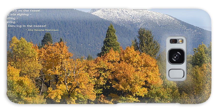Illinois Valley Galaxy S8 Case featuring the photograph Autumn In The Illinois Valley by Mick Anderson