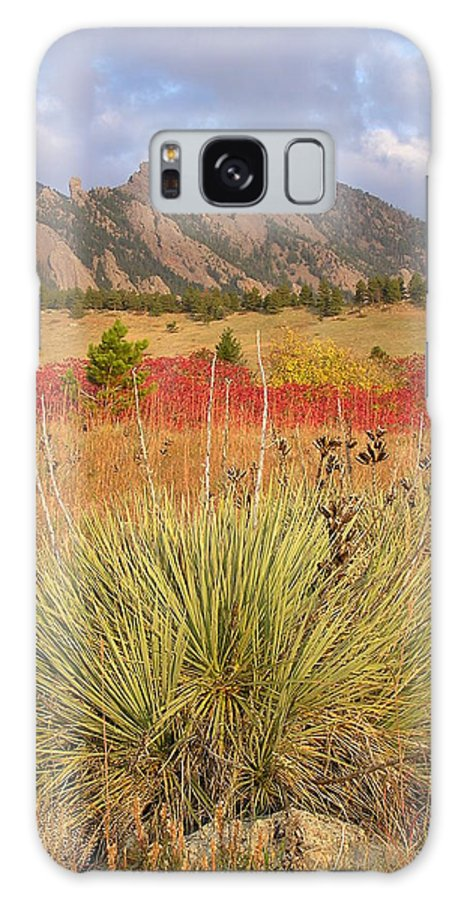 Landscape Galaxy S8 Case featuring the photograph Autumn Sunrise Along The Mesa Trail by John Myers