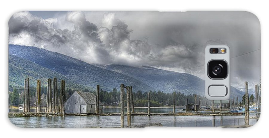 Balfour Galaxy S8 Case featuring the photograph Balfour On Kootenay Lake by John Greaves