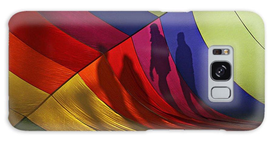 Balloon Galaxy S8 Case featuring the photograph Balloon Shadows by Shawn Naranjo