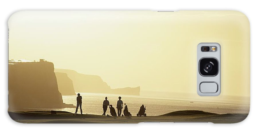 Outdoors Galaxy S8 Case featuring the photograph Ballycastle Golf Club, Co Antrim by The Irish Image Collection