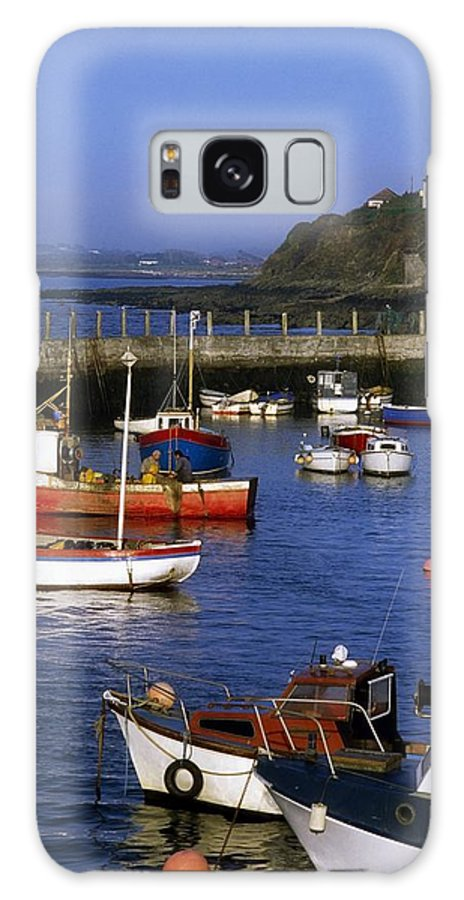 Ballycotton Galaxy S8 Case featuring the photograph Ballycotton, Co Cork, Ireland Harbour by The Irish Image Collection