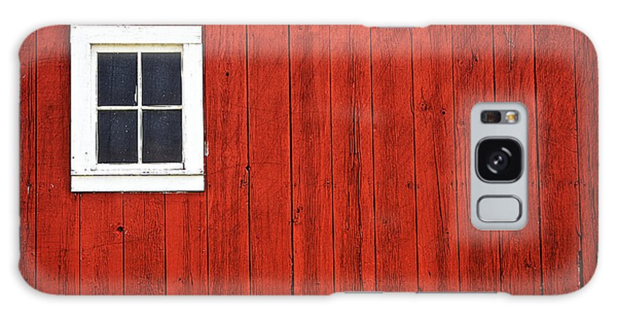 Agriculture Galaxy S8 Case featuring the photograph Barn Window by Jarrod Erbe