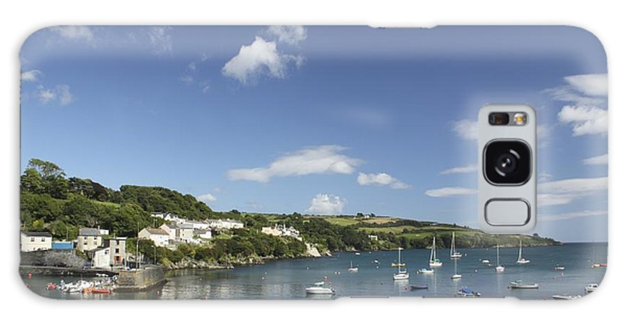 Boat Galaxy S8 Case featuring the photograph Bay Beside Glandore Village In West by Trish Punch