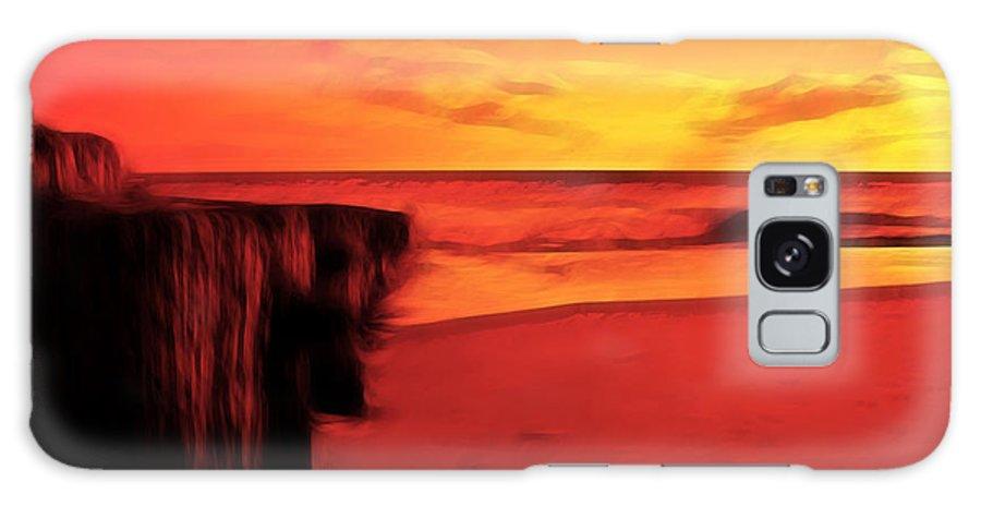 Beach Galaxy S8 Case featuring the photograph Beach Scene by Paul Ward
