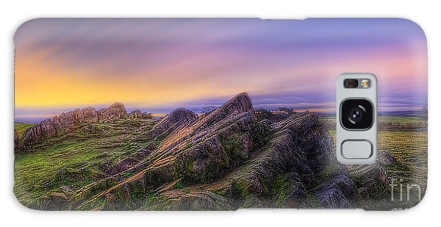 Panorama Galaxy S8 Case featuring the photograph Beacon Hill Sunrise 7.0 by Yhun Suarez