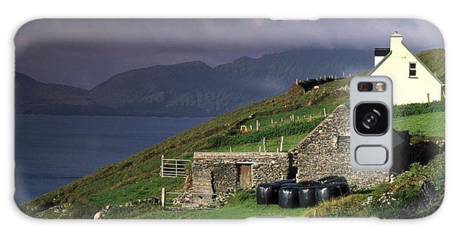 Agriculture Galaxy S8 Case featuring the photograph Beara Peninsula, County Cork, Ireland by Richard Cummins