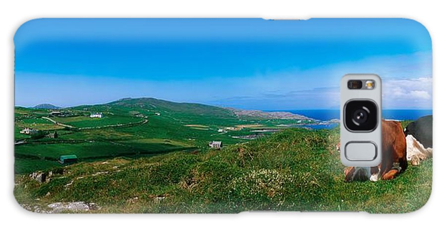 West Cork Galaxy S8 Case featuring the photograph Beara Peninsula, West Cork, County by The Irish Image Collection