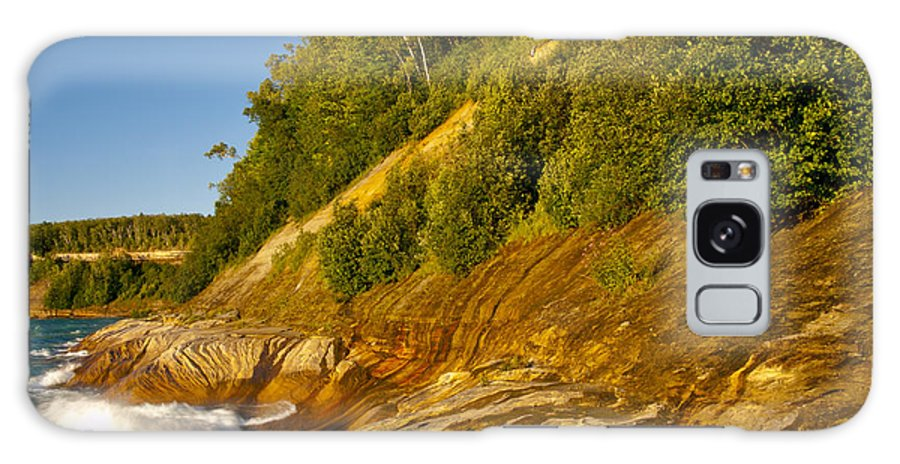 Pictured Rocks National Lakeshore Galaxy S8 Case featuring the photograph Beauty In Nature by Cindy Lindow