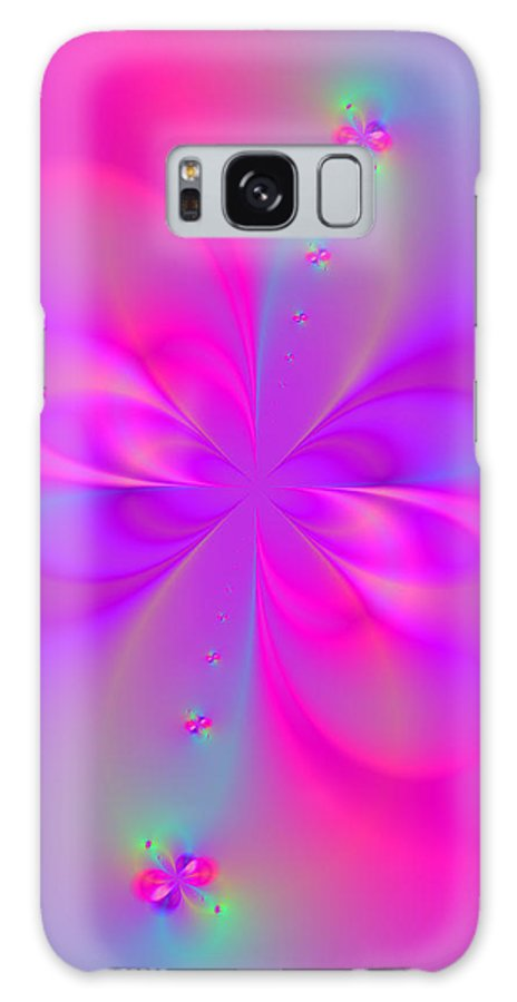 Festive Abstract Art Posters Galaxy S8 Case featuring the digital art Beauty Within by Ester Rogers
