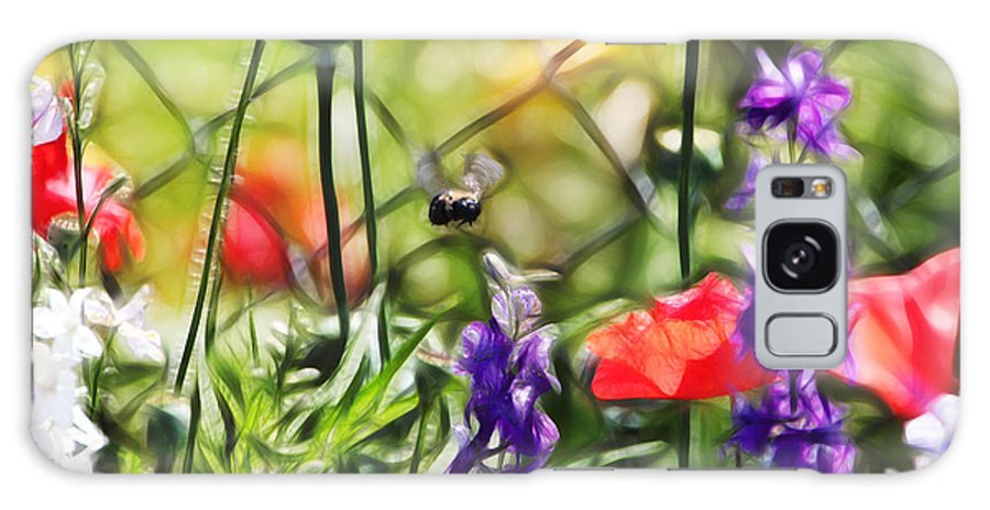 Tn Galaxy S8 Case featuring the photograph Bee Right There by Ericamaxine Price