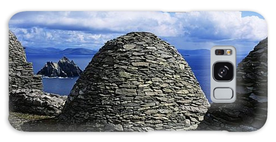 Abbeys Galaxy S8 Case featuring the photograph Beehive Huts At The Coast, Skellig by The Irish Image Collection