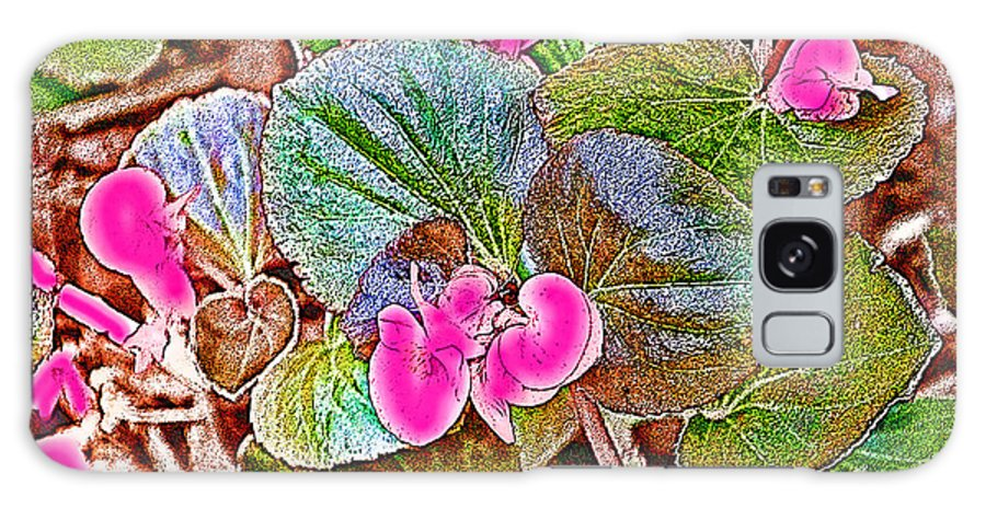 Flower Galaxy S8 Case featuring the photograph Begonia by Ericamaxine Price