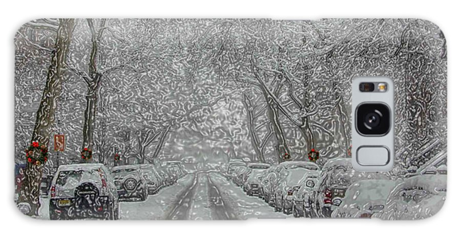 Snow Galaxy S8 Case featuring the photograph Berkeley Place by Mark Gilman