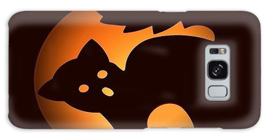 Black Cat Galaxy S8 Case featuring the photograph Beware Of Black Cats by Living Color Photography Lorraine Lynch