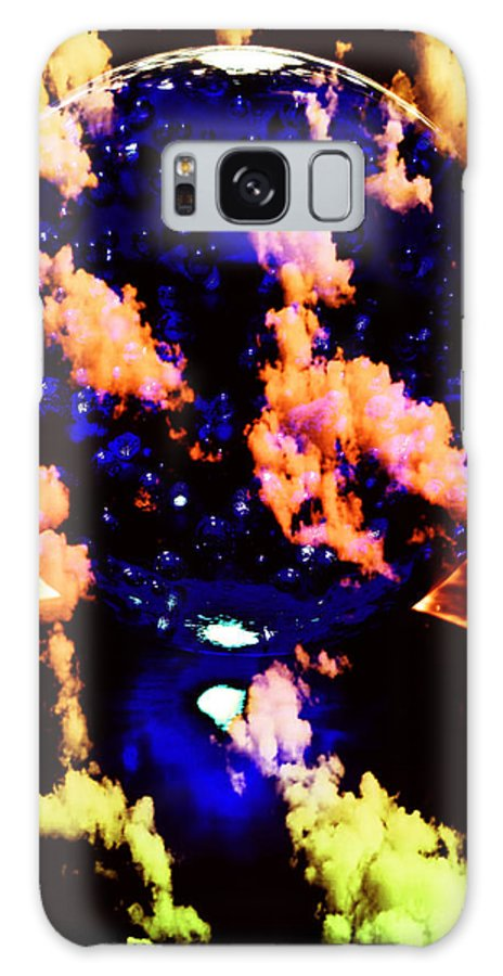 Blue Galaxy S8 Case featuring the photograph Big Blue Globe Thingee by Mick Anderson