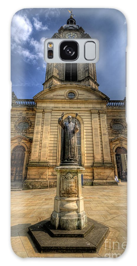 Church Galaxy S8 Case featuring the photograph Birmingham Cathedral 2.0 by Yhun Suarez