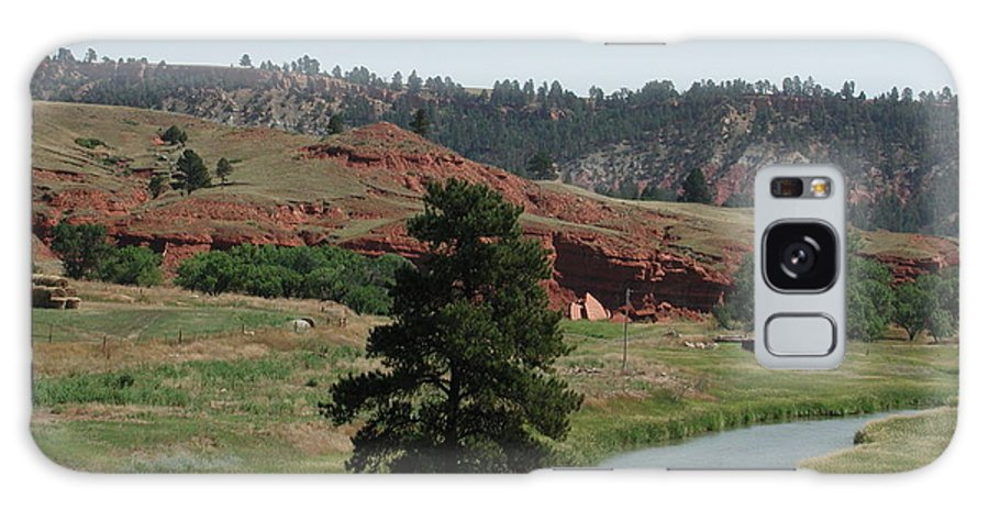 Sturgis Galaxy S8 Case featuring the photograph Black Hills Landscape by Anna Ruzsan