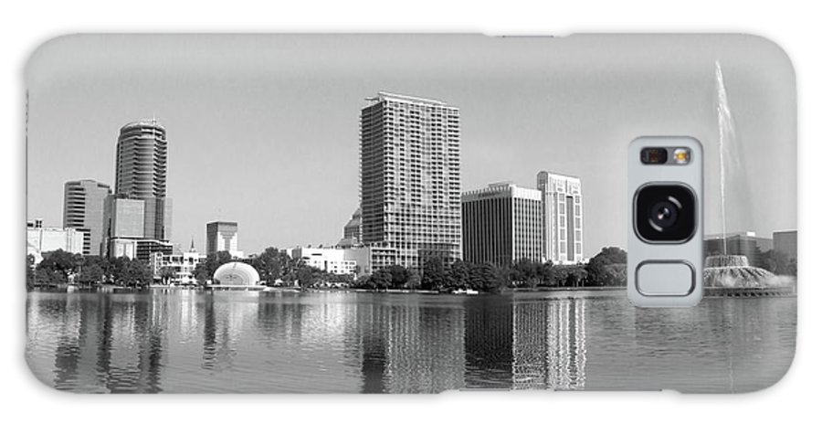 Building Galaxy S8 Case featuring the photograph Black White Orlando by Jack Norton