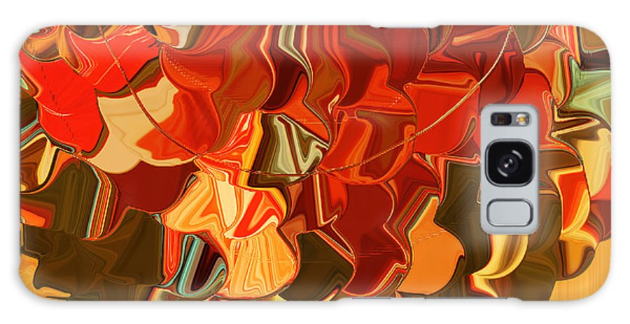 Bloom Galaxy S8 Case featuring the digital art Bloom by Bonnie Bruno