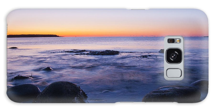 Acadia National Park Galaxy S8 Case featuring the photograph Blue Dawn Acadia National Park by Glenn Gordon