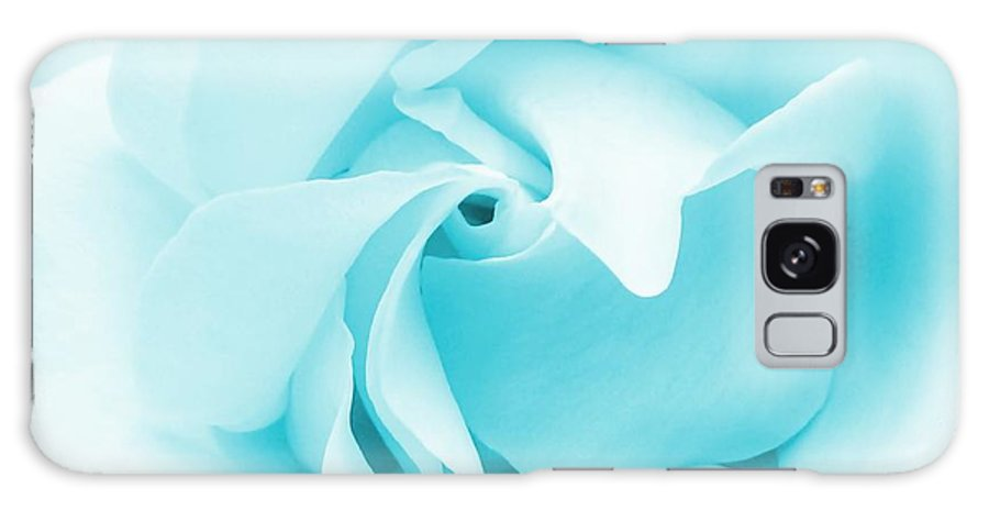 Rose Galaxy S8 Case featuring the photograph Blue Rose by Sharon Lisa Clarke