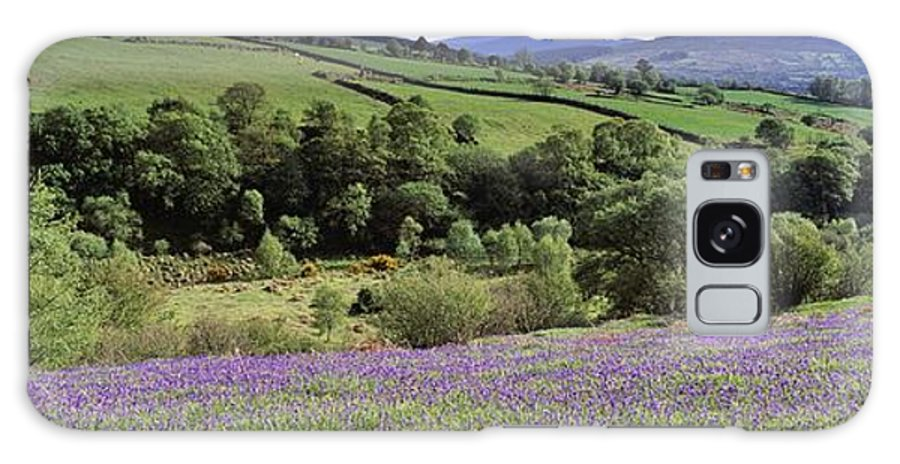 Cloud Galaxy S8 Case featuring the photograph Bluebells In A Field, Sally Gap, County by The Irish Image Collection