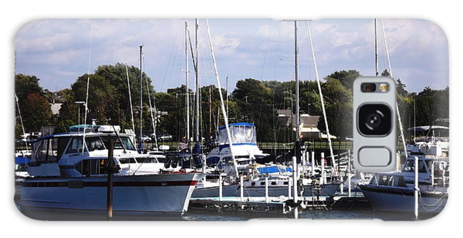Dunkirk Galaxy S8 Case featuring the photograph Boat Harbor In Dunkirk New York by Rose Santuci-Sofranko