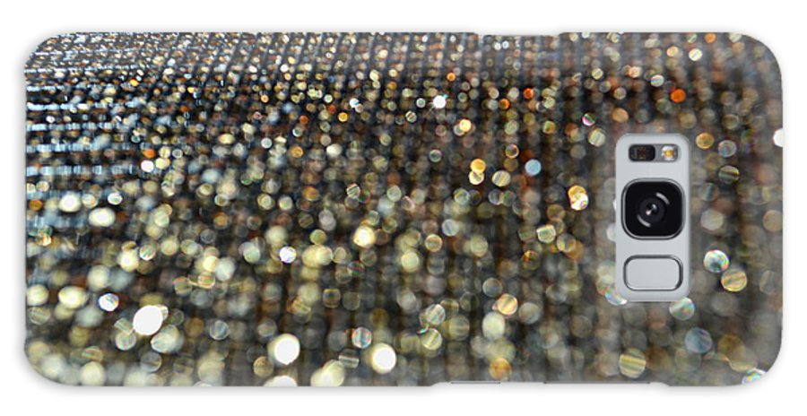 Bokeh Galaxy S8 Case featuring the photograph Bokeh Bling by Debbie Portwood
