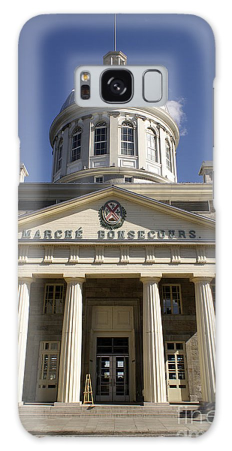 Bonsecours Market Or Marche Bonsecour In Old Montreal Galaxy S8 Case featuring the photograph Bonseours Market Montreal Quebec by John Mitchell