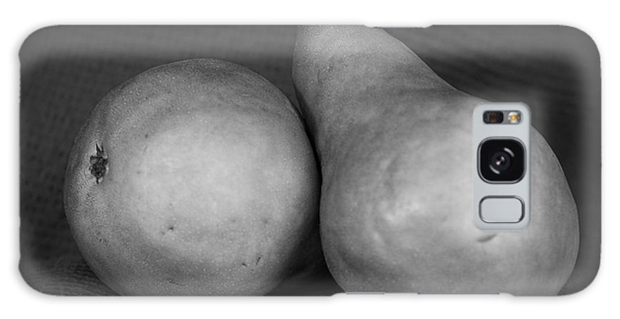 Bosc Pears Galaxy S8 Case featuring the photograph Bosc Pears In Monochrome by Constance Sanders