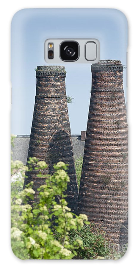 2011 Galaxy S8 Case featuring the photograph Bottle Kilns by Andrew Michael